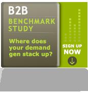b2b demand gen benchmark study