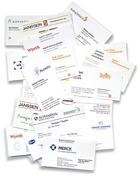 Business Card Data Entry