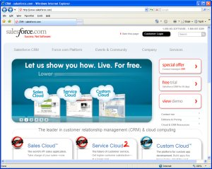 Salesforce.com Home Page